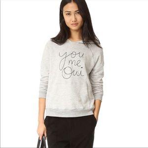 Sundry   You Me Oui Hoodie Sweatshirt